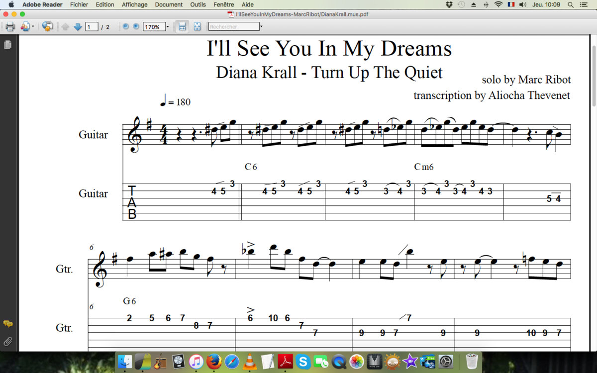 Marc Ribot Ill See You In My Dreams Diana Krall Turn Up The