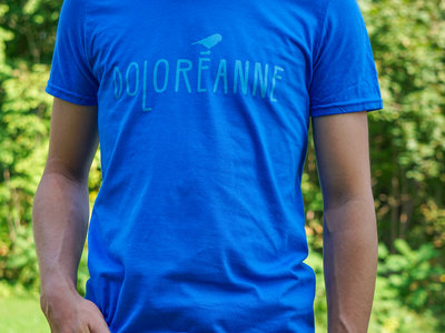T-shirt Garçon - Bleu main photo