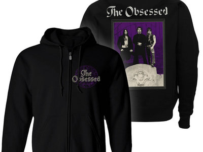 The Obsessed Zip Up Hoodie main photo