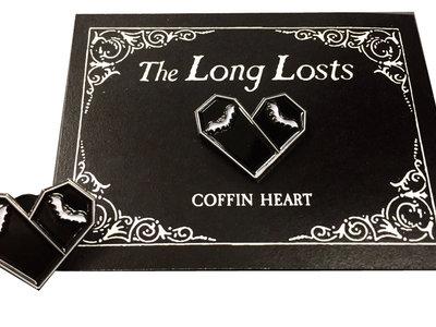 Coffin Heart logo lapel pin main photo