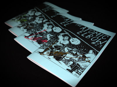 The Atomic Elbow #23 [Exclusive Limousine Signed Edition] main photo