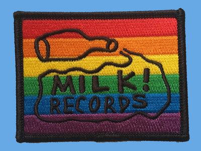 MILK! RECORDS Rainbow PATCH main photo