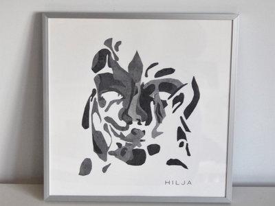 Cover Art Print with Frame - Hilja main photo