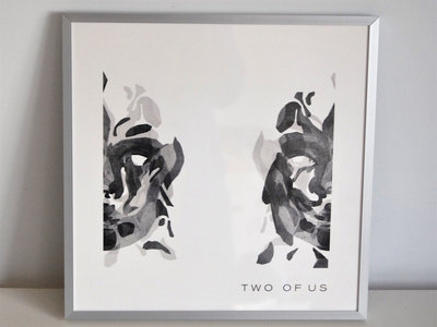 Cover Art Print with Frame - Two of Us main photo