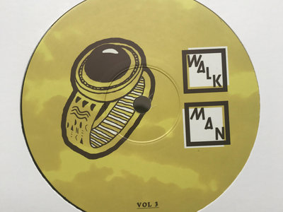 "DOC DANEEKA - WALK.MAN VOL 3 - 12"" Vinyl 140g - ***SHIPPING NOW*** main photo"