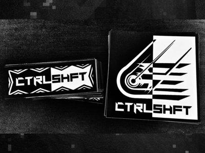 CTRLSHFT Vinyl Sticker Bundle main photo