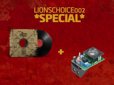 """*LTD SPECIAL* LIONSCHOICE002 - VINYL 12"""" + SIREN MINI KIT main photo"""