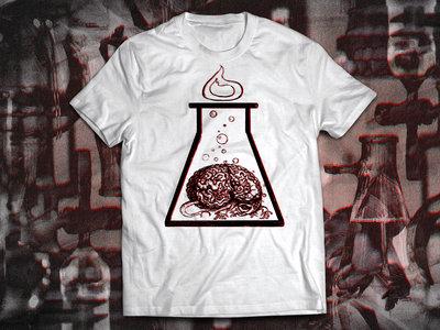 Brain Experiment Metafiziq T-shirt, White main photo