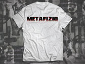 Brain Experiment Metafiziq T-shirt, White photo