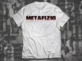 Brain Experiment Metafiziq T-shirt, White photo