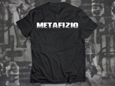 Brain Experiment Metafiziq T-shirt, Black photo
