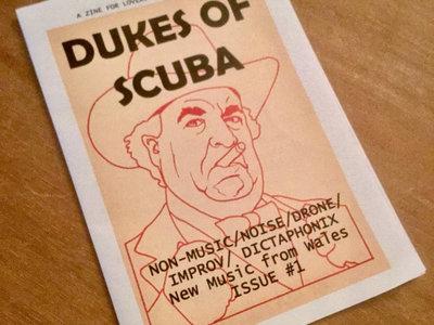 Dukes Of Scuba - A6 music zine issue #1 main photo