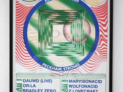 Rhythm Section Meets African Acid Risograph main photo