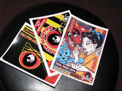 Radio Konton Stickers (3 pack!) main photo