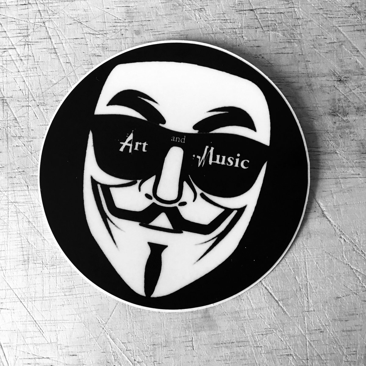 Art and Music_Sticker_GF