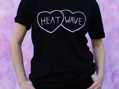Heat Wave hearts t-shirt main photo