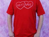 Heat Wave hearts t-shirt photo