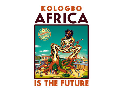 Wearplay LP#17 - Kologbo - Africa Is The Future - T-shirt Made In France + Full Album Digital Download main photo