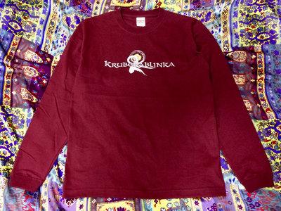 Kruberablinka T-shirt 'Logo' (Burgundy) クルベラブリンカ ロンT 'ロゴ' (バーガンディ) main photo