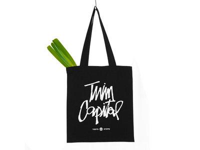Twin Capital Mini Tote Bag [Black] main photo
