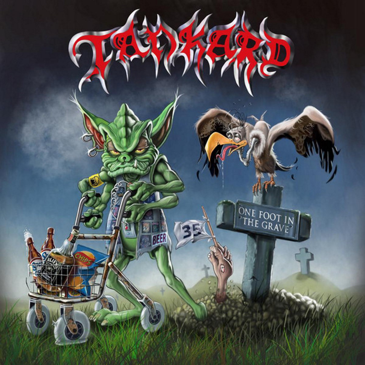 TANKARD - One Foot In The Grave Digi-2CD | Possession
