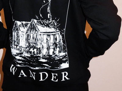 Lighthouse / Statue Face Zip Up Hoodie main photo