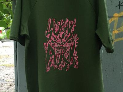 SUCK PUCK XL T-SHIRT [khaki color] (Limeted edition) main photo