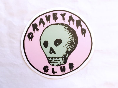 GYC Skull Sticker main photo