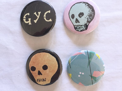 GYC Buttons (set of four) main photo