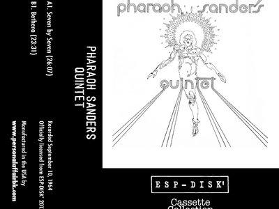 """Pharoah Sanders """"Pharaoh Sanders Quintet"""" Cassette Tape PAESP-006 main photo"""