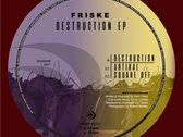 "Friske - Destruction EP | 12"" Vinyl photo"