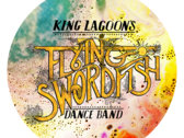 King Lagoon's Flying Swordfish Logo T-shirt photo