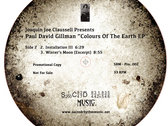 "Paul Gillman presents Colours of the Earth Ep 12"" Vinyl Release photo"