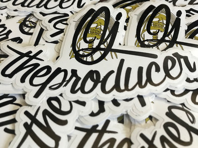 OJ The Producer Logo Sticker Pack (6 count) main photo