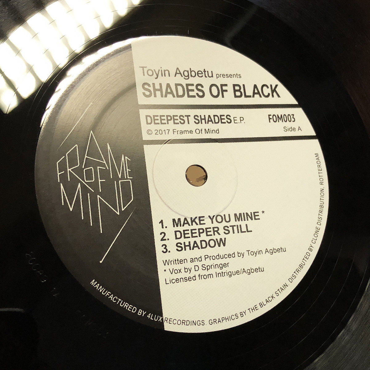 Deepest Shades EP | Frame Of Mind