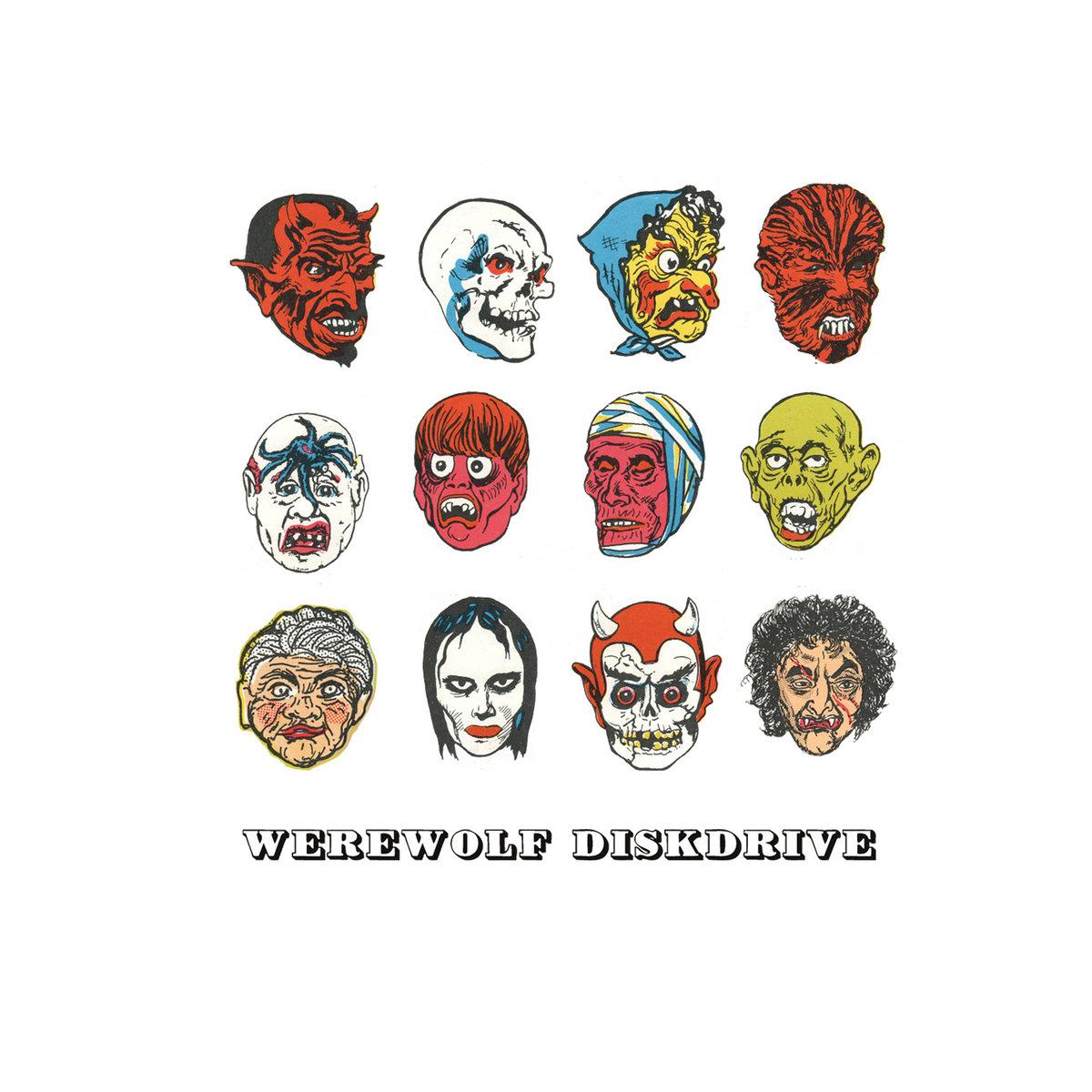 Werewolf Diskdrive | Say Hi
