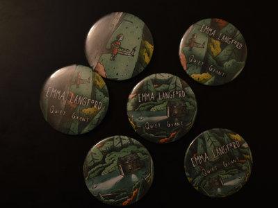 """Quiet Giant"" Limited Edition Album Artwork 2"" Badge main photo"