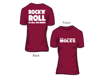 """Rock'n'Roll Is All We Need"" (Girlie T-Shirt) main photo"