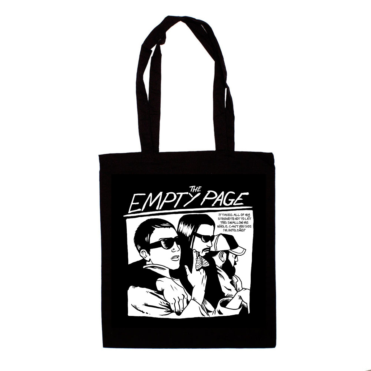 New Goo Ey Tote Bag The Empty Page