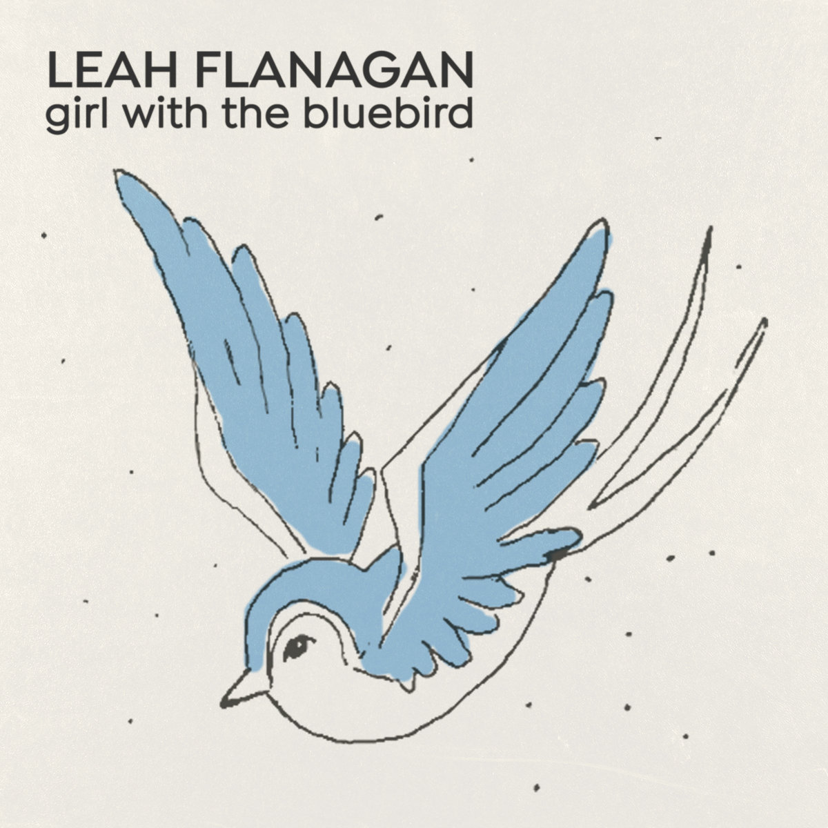 Girl With The Bluebird Tattoo | Leah Flanagan