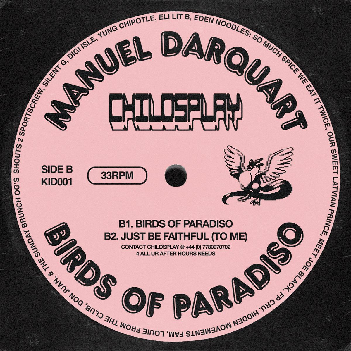 birds of paradiso | childsplay