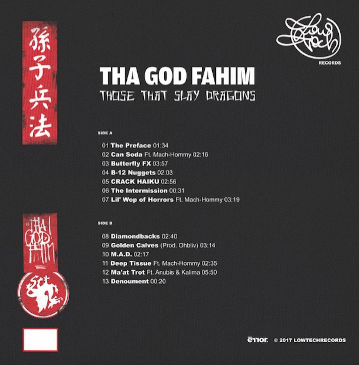 Tha God Fahim - Those That Slay Dragons | lowtechrecords