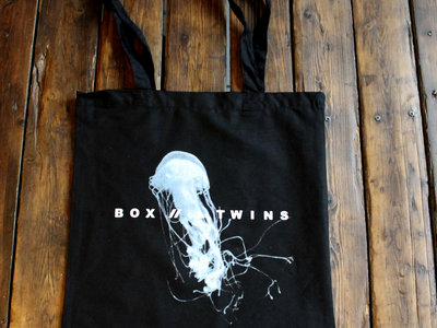 """""""This Place told nowhere""""- Tote with a beautiful Jellyfish on it main photo"""