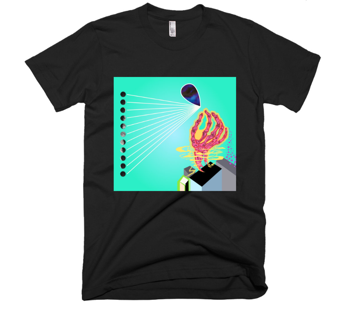The Dreamland Fire Flow Design Unisex T Shirt The Dreamland Fire