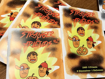 """""""Stranger & Friends II"""" 16 pages full color comic book by Haina and Florian Filsinger main photo"""