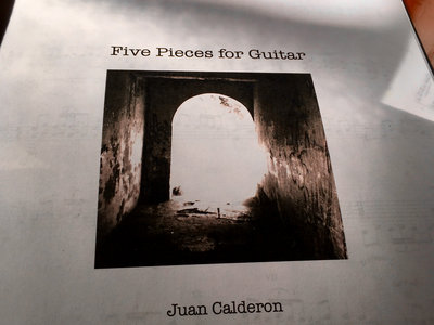 Five Pieces for Guitar main photo