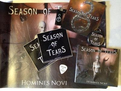 'Homines Novi' Digipack + 'Ouroboros' EP + Merch Pack main photo