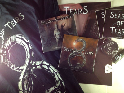 'Homines Novi' Digipack + 'Ouroboros' EP + T-shirt Ouroboros + Merch Pack main photo