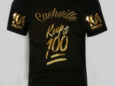 Cashville Keep it 100red V Neck reg.price $38.00 main photo