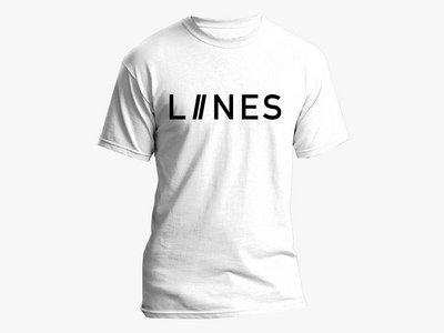 LIINES logo T-Shirt – White main photo